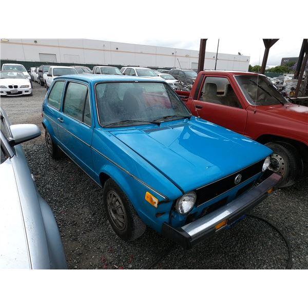 VW RABBIT 1976 T-DONATION
