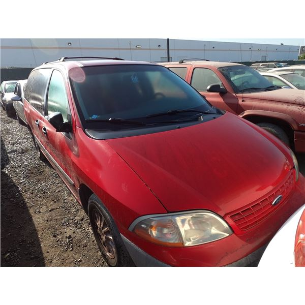 FORD WINDSTAR 2001 T-DONATION