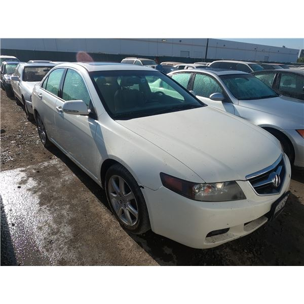 ACURA TSX 2004 APP  DUP/T-DON