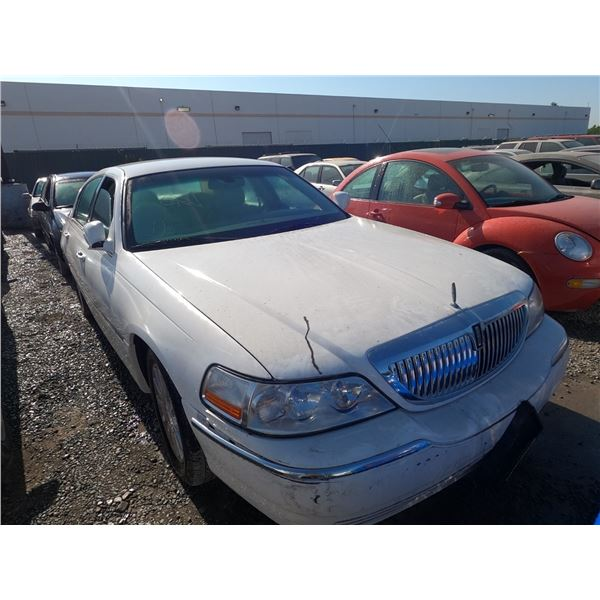 LINCOLN TOWN CAR 2007 L/S-DONATION