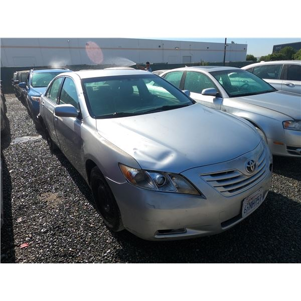 TOYOTA CAMRY 2007 T