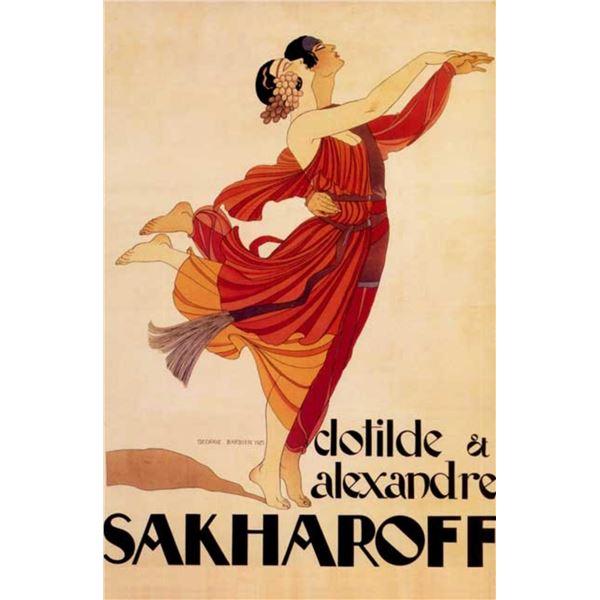 Georges Barbier - Sakharoff