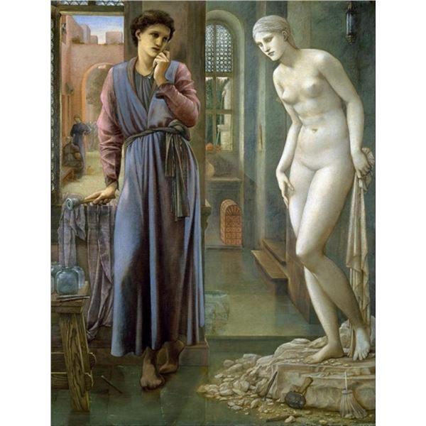 Edward Burne-Jones - Pygmalion and the Image