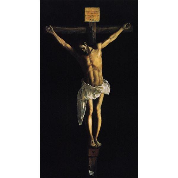 Francisco de Zurbar�n - Christ on the Cross