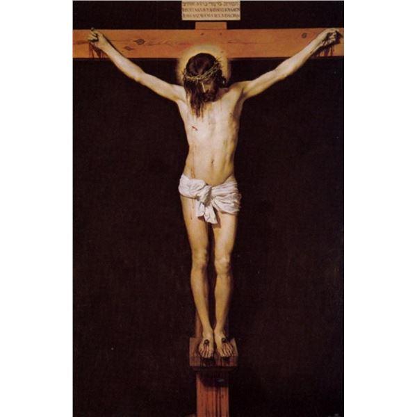 Diego Vel�zquez - Christ on the Cross