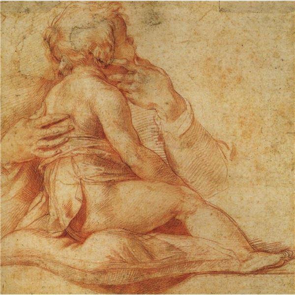 Francesco Salviati - Study of Christ