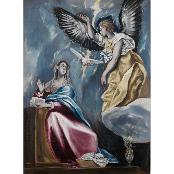 El Greco - The Annunciation