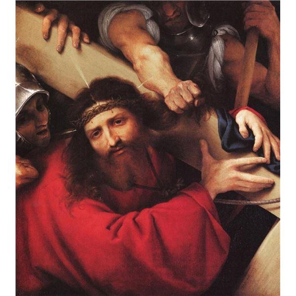 Lorenzo Lotto - Christ Carrying the Cross