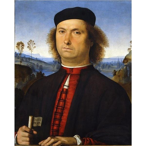 Pietro Perugino - Portrait of Francesco delle Opere