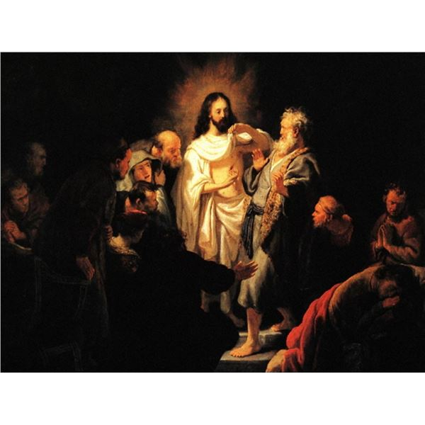 Rembrandt - Christ Shows his Wound
