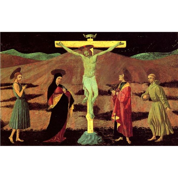 Paolo Uccello - Christ at the Cross