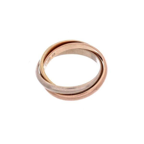 Cartier 18K Gold Extra Small Trinity Ring 49