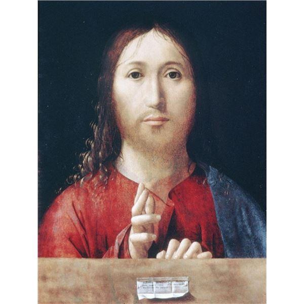 Antonello da Messina - Christ Blessing
