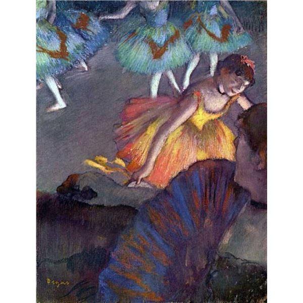 Edgar Degas - Ballet, From A Box View