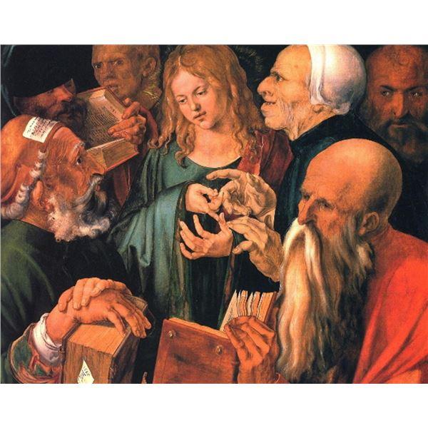 Albrecht D�rer- Christ Teaches the Learned Men