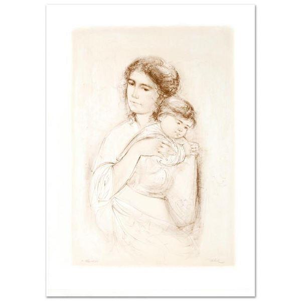 Leona and Baby by Hibel (1917-2014)