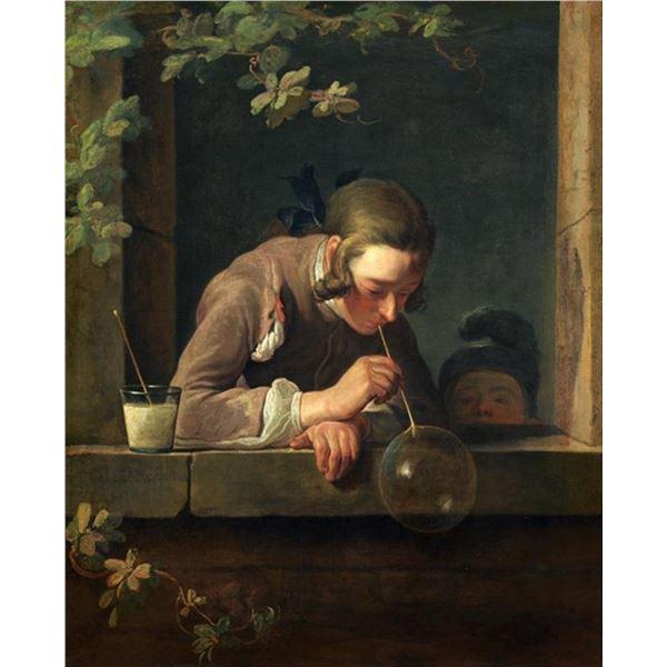 Jean Baptiste Chardin - Soap Bubbles