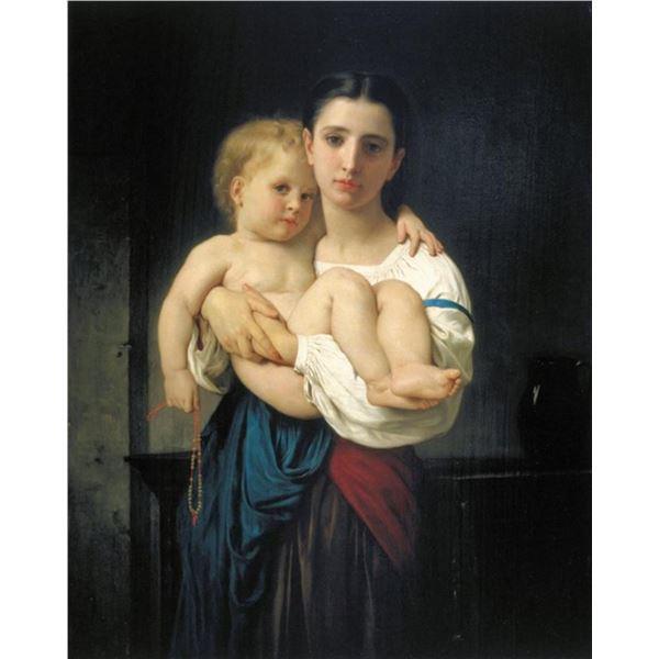 William Bouguereau  - Elder Sister