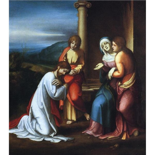 Correggio - Christ Taking Leave of his Mother
