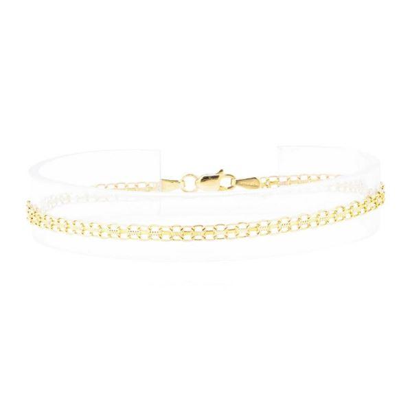 Bismark Chain Bracelet - 14KT Yellow Gold