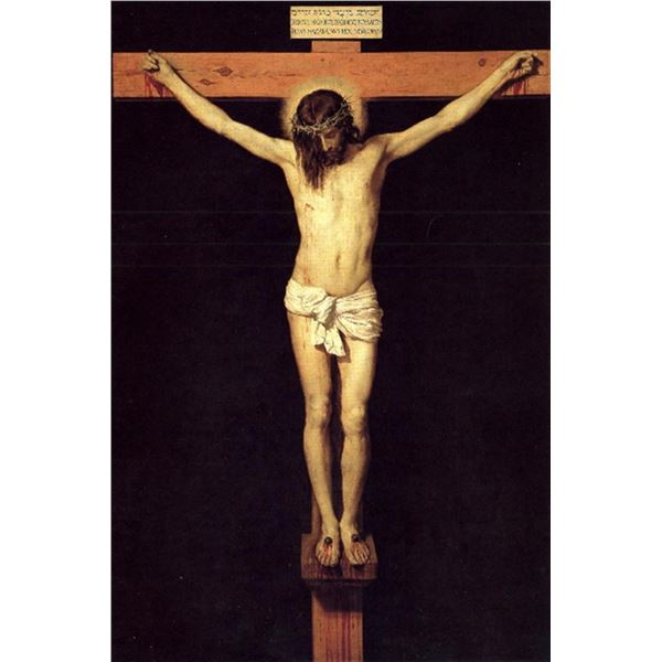 Diego Vel�zquez - Crucified Christ