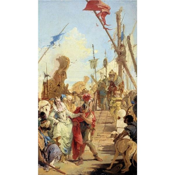 Tiepolo - The Meeting of Anthony and Cleopatra