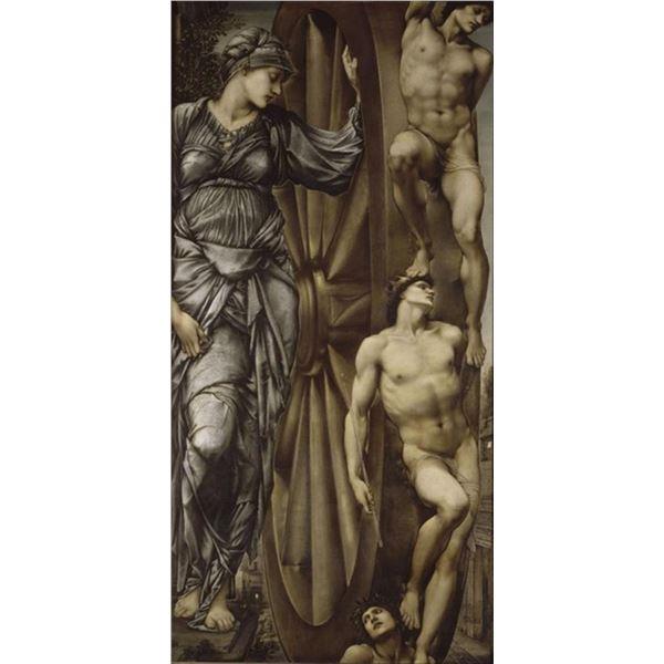 Edward Burne-Jones - Wheel of Fortune