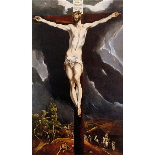 El Greco - Christ on the Cross [2]