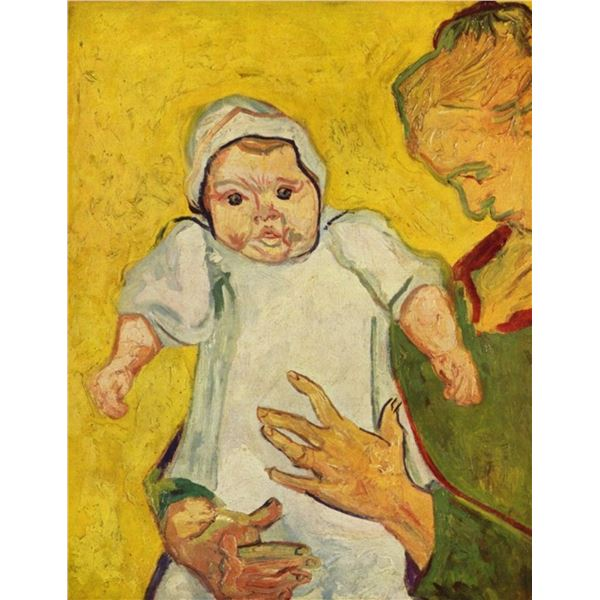 Van Gogh - Augustine Roulin With Her Infant