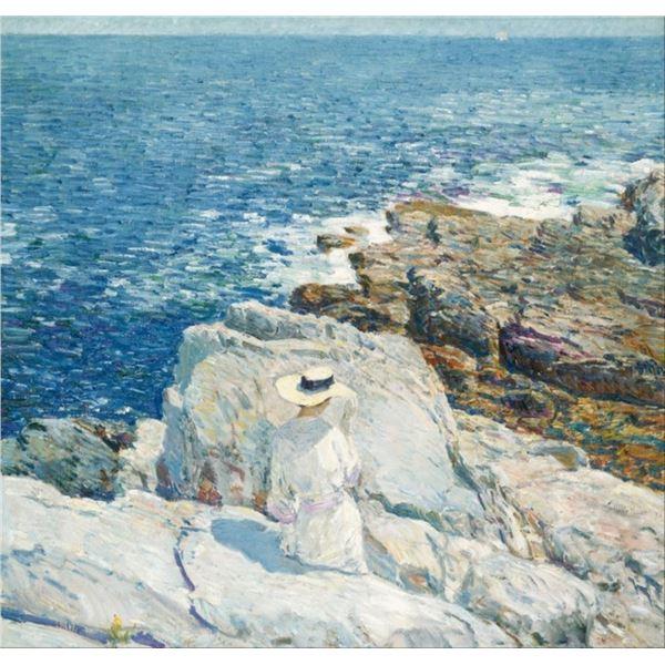 Childe Hassam - The South Ledges, Appledore