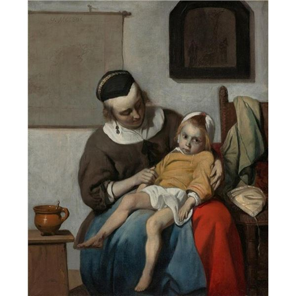 Gabriel Metsu - The Sick Child