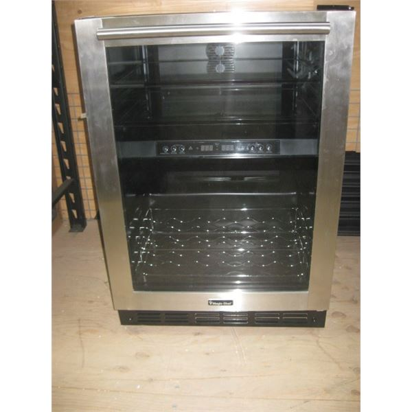 MAGIC CHEF BUILT IN OR FREE STANDING 44 BOTTLE WINE COOLER