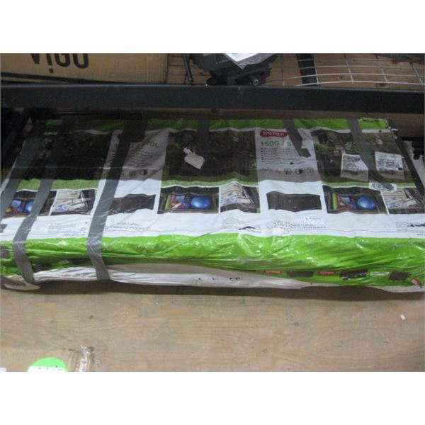 KETER 150G WOOD LOOK DECK BOX DAMAGED FREIGHT 61X28X25 IN