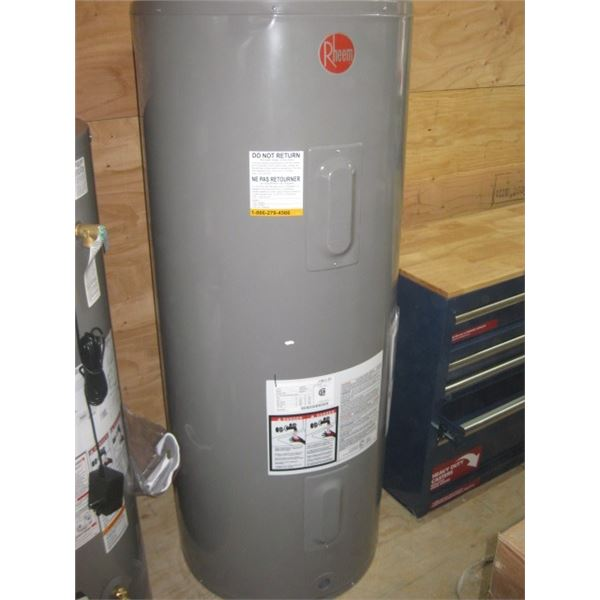 RHEEM 285L ELECTRIC HOT WATER TANK DENTED