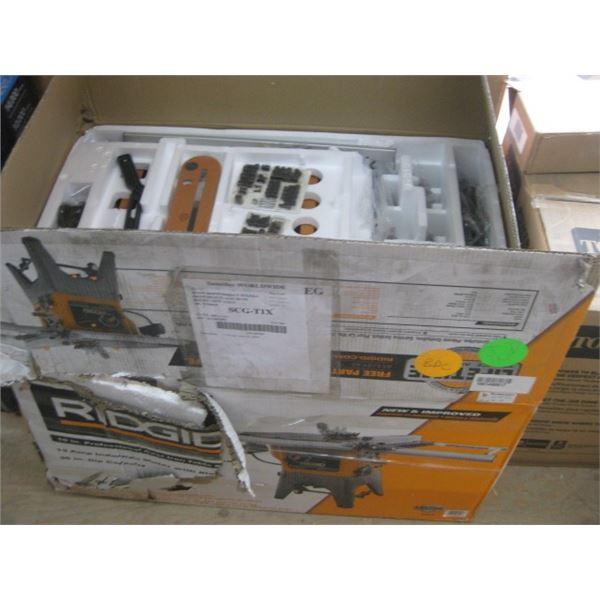 RIDGID 1001490817 10 INCH TABLE SAW