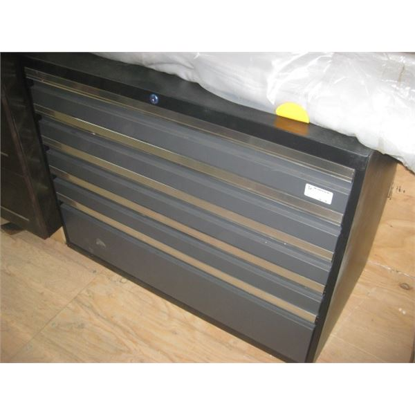 NEWAGE PRO SERIES GREY EXTENDED TOOL CABINET DENTED