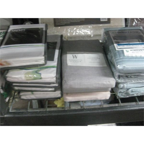 10 PACKAGES ASSORTED SHAMS