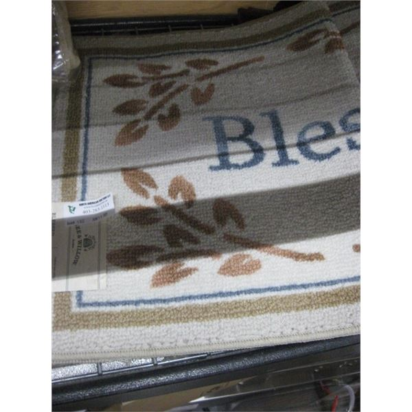 BEE AND WILLOW BLESSED ACCENT RUG 20 X 34