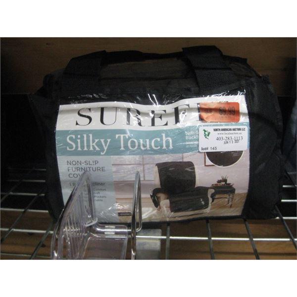 SUREFIT SILKY TOUCH NON SLIP FURNITURE COVER RECLINER