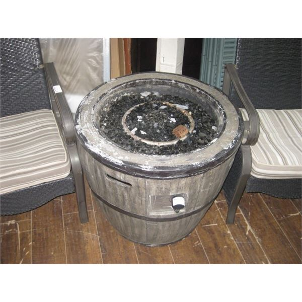 USED PROPANE FIRE TABLE