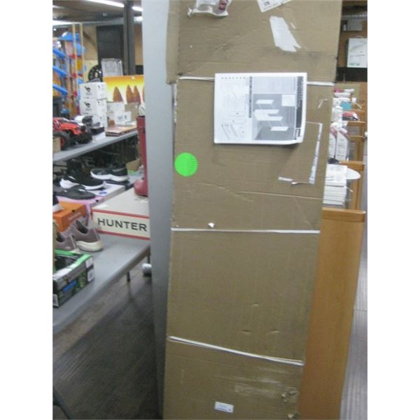 THE STOW COMPANY 240017 4-8FT WIDE DELUXE STARTER CLOSET