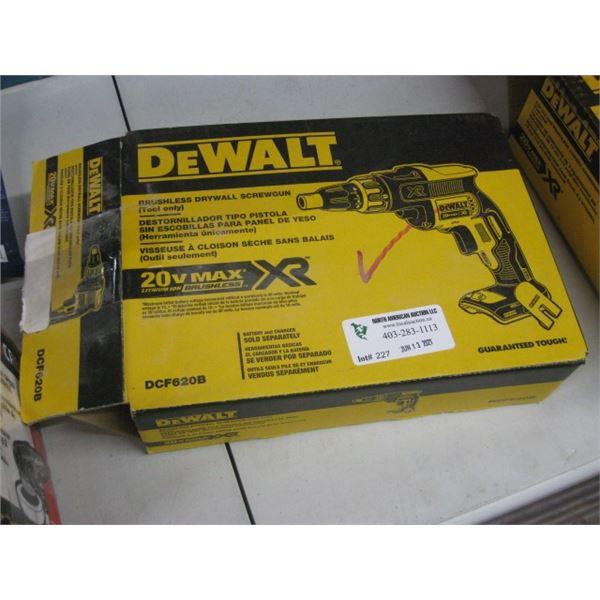 NEW DEWALT DCF620B DRYWALL SCREWGUN BARE TOOL ONLY