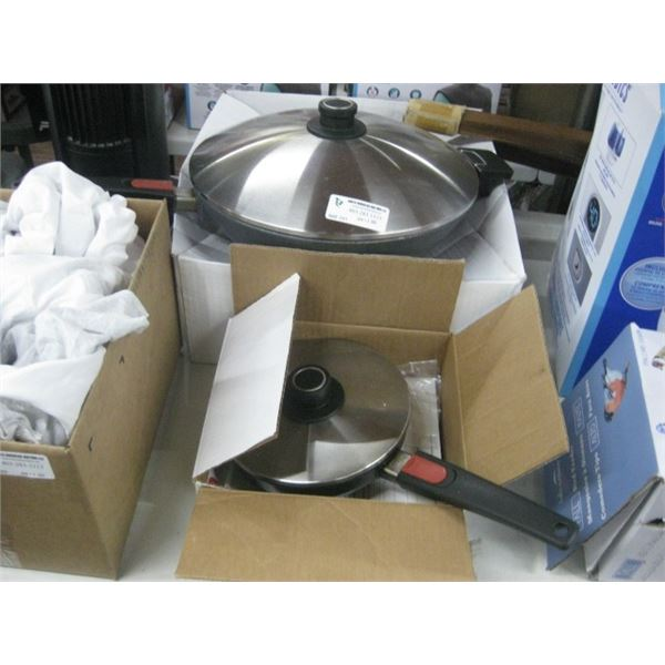PAIR OF USED WOLL PANS