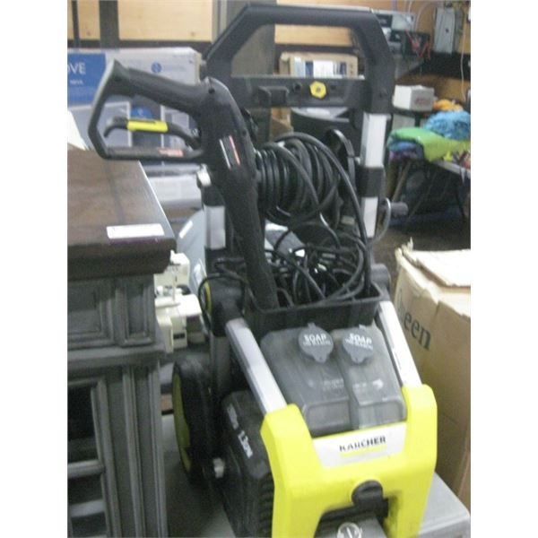 KARCHER 1900 PSI ELECTRIC PRESSURE WASHER USED