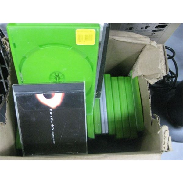 VARIOUS XBOX GAMES AND CDS