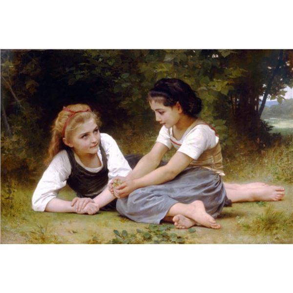 William Bouguereau - The Nut Gatherers