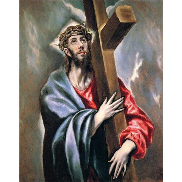 El Greco - Christ Carrying the Cross [3]