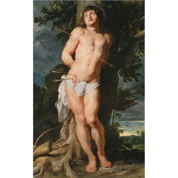 Sir Peter Paul Rubens - St. Sebastian