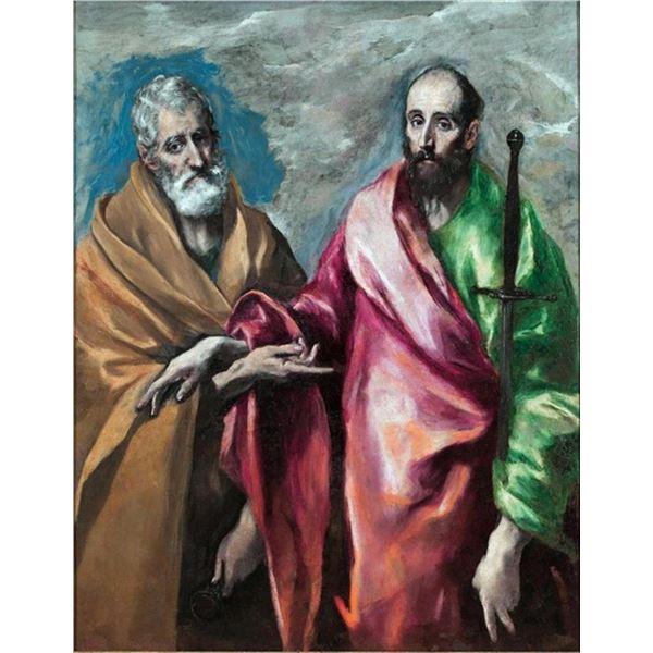 El Greco - Saint Peter and Saint Paul