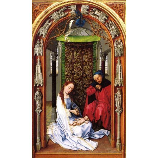 Rogier van der Weyden - Birth of Christ